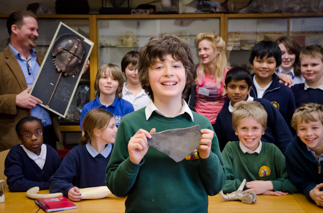 At the Natural History After-School Club
