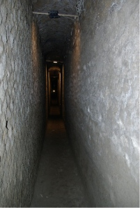 The sewer in Herculaneum