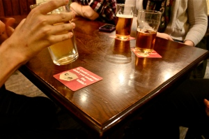 Have you seen our beer mats advertising Goes for a Pint?
